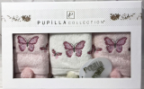 Набор 3 кухонных полотенца Pupilla Bamboo «Butterfly-ІІ» 30х50см