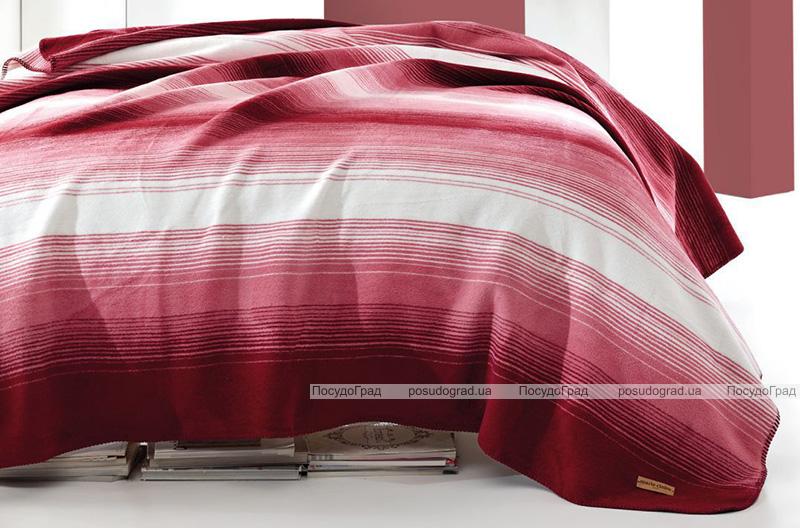 Плед Marie Claire Gill-red 200х220 Евро, хлопок