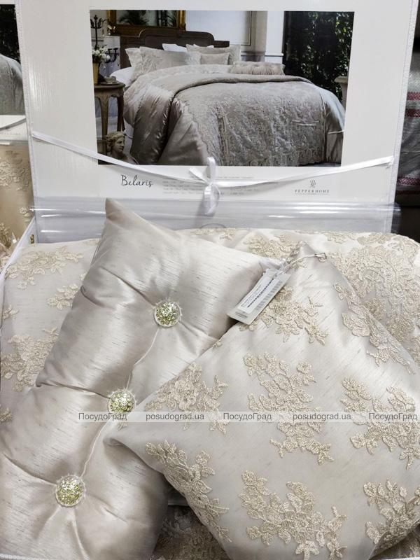 Покрывало Pepper Home Belaris Tas 270х260см с наволочками и декоративными подушками, жаккард