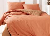 Комплект постельного белья Marie Claire Paris Евро оранжевый, ранфорс