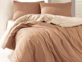Комплект постельного белья Marie Claire Paris Евро кофейный, ранфорс