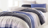 Комплект постельного белья Marie Claire Scar Blue Полуторный, ранфорс