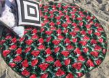Полотенце пляжное Art of Sultana «Арбуз» круглое Ø150см, махра/велюр