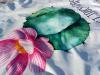 Полотенце пляжное Art of Sultana «Kaktus» круглое Ø150см, махра/велюр
