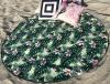 Полотенце пляжное Art of Sultana «Tropic» круглое Ø150см, махра/велюр