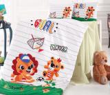 Комплект дитячої постільної білизни Nazenin Player у ліжечко, бавовна
