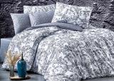 Комплект постельного белья Nazenin Aurora Gri (евро), ранфорс