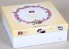 Комплект постільної білизни TAC Jenny Pink (полуторка), фланель