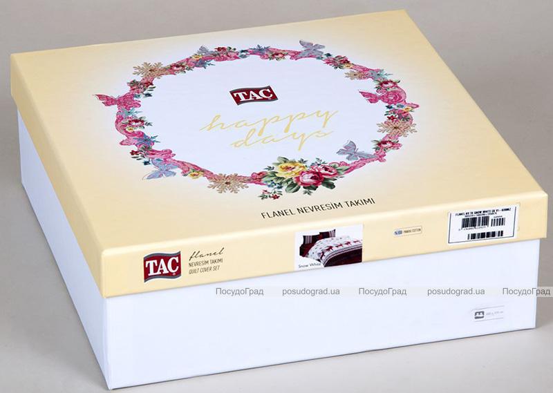 Комплект постільної білизни TAC Buterfly (євро), фланель