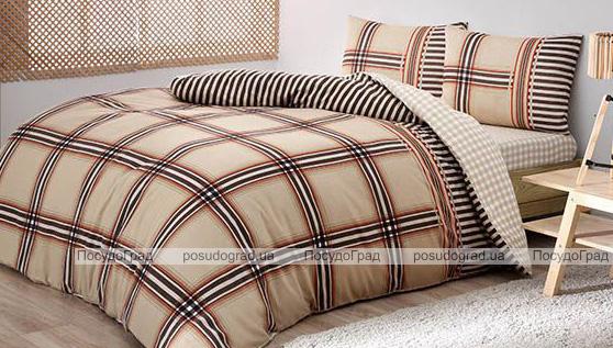 Комплект постельного белья TAC Avita Geometry (полуторка), фланель