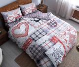 Комплект постельного белья TAC Savina (полуторка), фланель