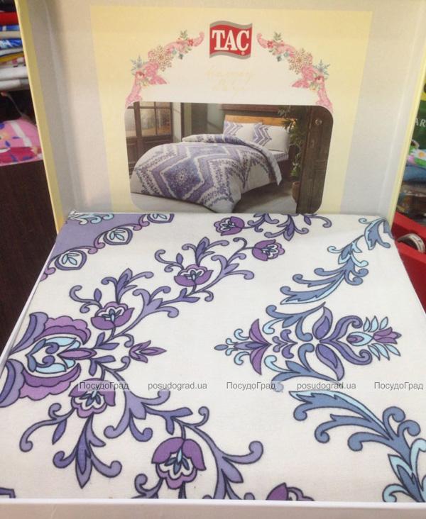 Комплект постельного белья TAC Jenny Blue (полуторка), фланель