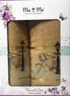 Подарунковий набір рушників Ma Me Jezim банний 70х140см і лицьовий 50х90см, гірчичні