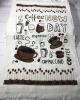 Набір 12 кухонних рушників By IDO Antalya Kofe 40х60 махра/велюр