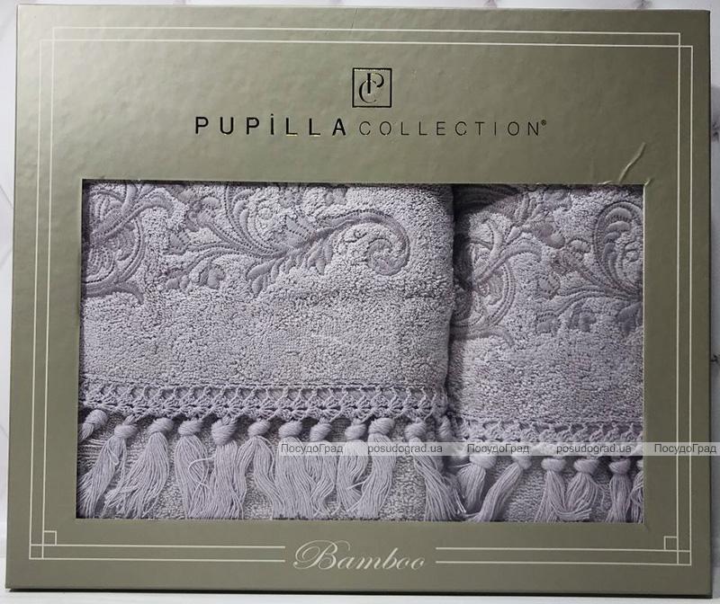 Набір рушників Pupilla Cappy Penye, лицьовий 50х90см і банний 70х140см, бузковий