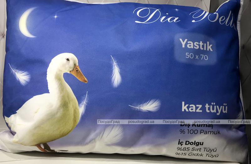 """Подушка Unicolor """"Dia Bella"""" Yastik 50х70см с наполнителем """"пух-перо"""""""