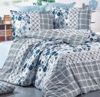 Комплект постельного белья Nazenin Epix Yosun Евро (4 наволочки), сатин