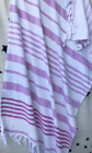 Рушник пляжний Art of Sultana Pink Stripes 90х170см