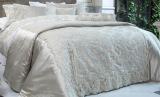 Покрывало Pepper Home Belaris Gold 270х260см с наволочками и декоративными подушками, жаккард