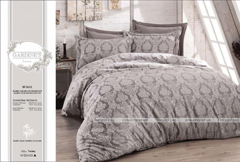 Комплект постельного белья Gardine's Bukle Murdum (Евро), жаккард