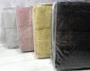 Набір 3 рушники Soft Cotton Deluxe Pudra, махра