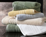 Набор 2 полотенца Soft Cotton Aria Green лицевое и банное, махра