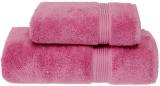 Набір рушників Soft Cotton «Lana Kirmizi» Pink банний 75х150см і лицьовий 50х90см, бавовна