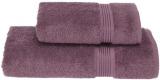 Набір рушників Soft Cotton «Lana Kirmizi» Violet банний 75х150см і лицьовий 50х90см, бавовна