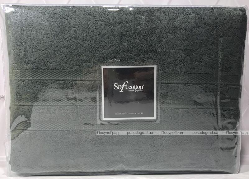 Набір 2 рушники Soft Cotton Boheme Yesil лицьовий 50х100см та банний 85х150см, махра