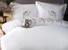 Комплект постельного белья Pupilla Talin Erku (евро), сатин с вышивкой
