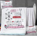 Детское постельное белье Vicoria «Car Jounary», 100% хлопок