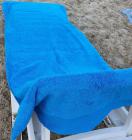 Рушник пляжний Art of Sultana Blue 75х200см, з кишенею для шезлонга