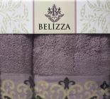 Набір 2 рушники Belizza Julia банний 70х140см і лицьовий 50х90см, махра, бузковий