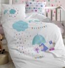 Детское постельное белье Belizza «Happy Birthday» для новорожденных, 100% хлопок