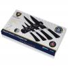 Набор ножей Swiss Gold OMNIA 4 ножа с мраморным покрытием и магнитная планка