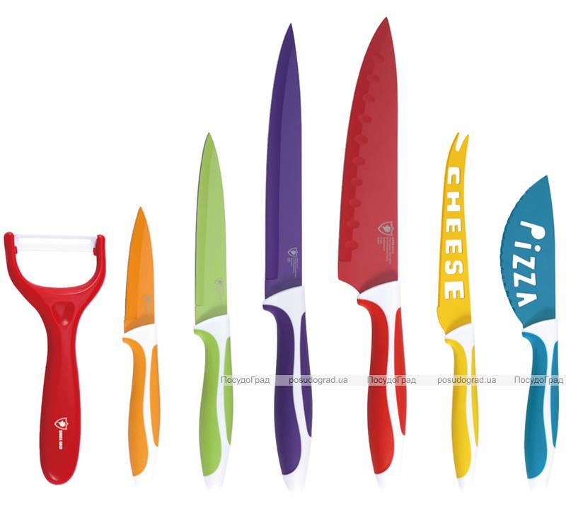 Набор ножей Swiss Gold OMNIA 7 предметов + БОНУС!