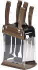 Набір 5 кухонних ножів San Ignacio Moncayo на акриловій підставці