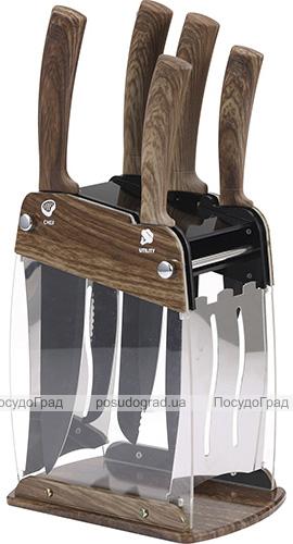 Набор 5 кухонных ножей San Ignacio Moncayo на акриловой подставке