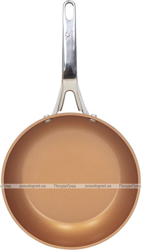 Сковорода San Ignacio Origen Ø28см індукційна з антипригарним покриттям, мідний