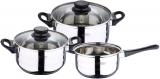 Набір кухонного посуду San Ignacio Toledo 2 каструлі 2.3л, 3.3л і ківш 1.6л
