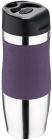 Термокружка San Ignacio Premium Purple 400мл з силіконовою накладкою