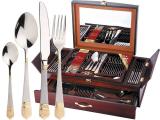 Набор столовых приборов Swiss Home 6104 Дипломат 72 предмета на 12 персон