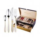 Набор столовых приборов Swiss Home 6165 Дипломат 72 предмета на 12 персон