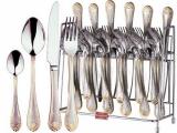 Набор столовых приборов Swiss Home 6479 6 персон 24 предмета на подставке