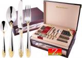 Набор столовых приборов Swiss Home 7048 Дипломат 72 предмета на 12 персон