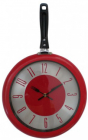"""Годинник настінний """"Сковорода червона"""" 30х48х4.5см"""