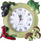 """Часы настенные """"Vegetables and mushrooms"""""""