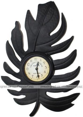 """Часы настенные """"Листик"""" 41.5х28х5см"""
