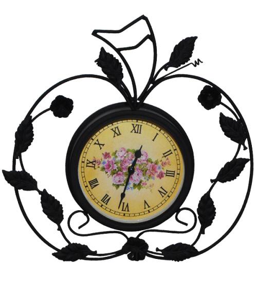 """Часы настенные """"Яблочный орнамент"""""""