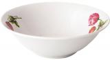 Набір 6 салатників «Червоний Півонія» 17.5см, кераміка
